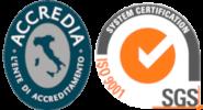 Certificazione ISO 9001:2015 SGS